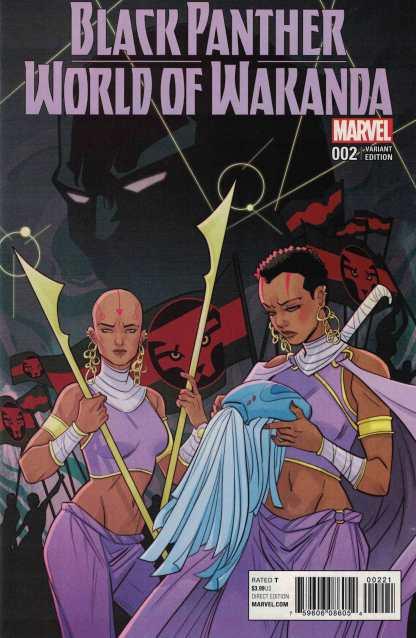 Black Panther World of Wakanda #2 1:50 Sauvage Variant NOW Marvel 2016