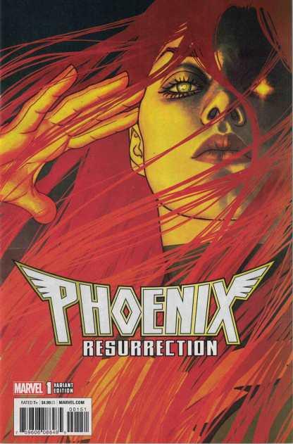 Phoenix Resurrection #1 1:25 Jenny Frison Variant Marvel 2017