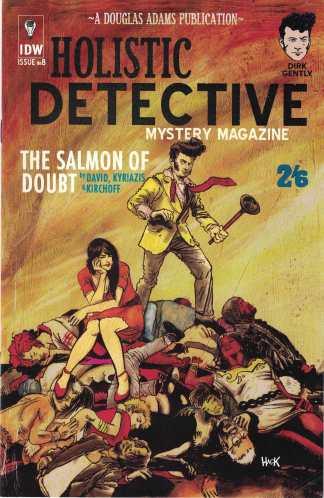 Dirk Gently Salmon of Doubt #8 1:10 Robert Hack Variant IDW 2016