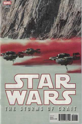 Star Wars Storms of Crait #1 Movie Variant Marvel 2017 Last Jedi
