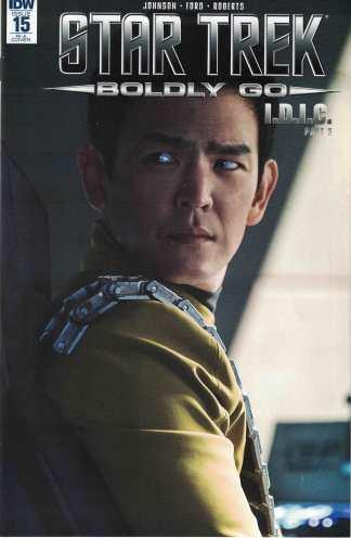 Star Trek Boldly Go #15 1:10 Photo Variant IDW 2016