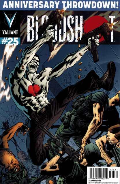 Bloodshot #25 1:50 Bryan Hitch Variant HTF