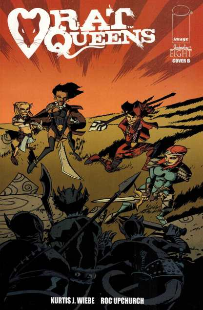 Rat Queens #8 1:10 Oeming Connecting Variant Image