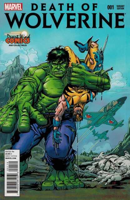 Death of Wolverine #1 Desert Wind Comics Exclusive Variant Trimpe