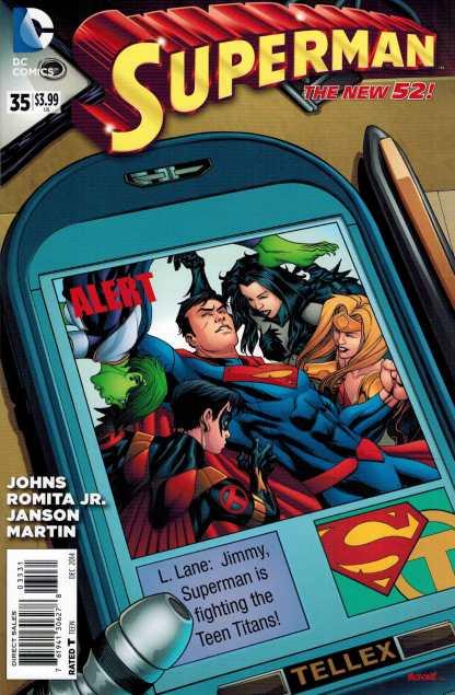 Superman #35 1:25 Mike McKone Variant Geoff Johns Romita New 52