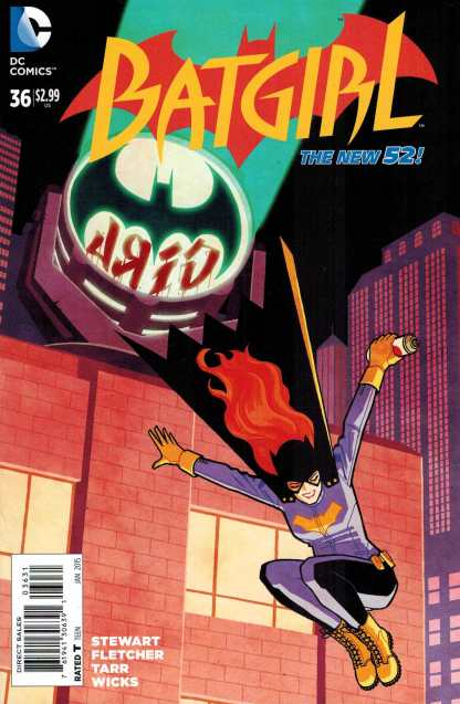 Batgirl #36 1:25 Cliff Chiang Variant Batgirl of Burnside DC 2011 New 52
