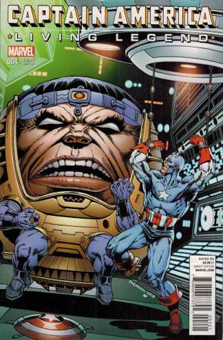Captain America Living Legend #4 1:25 Jim Starlin MODOK Variant Marvel 2013