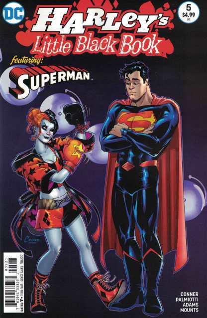 Harley's Little Black Book #5 1:25 Amanda Conner Variant DC 2015 Superman