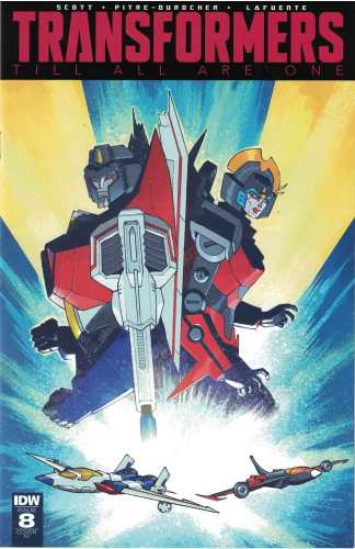 Transformers Till All are One #8 1:10 Nelson Daniel Variant IDW 2016