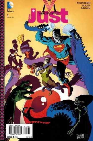 Multiversity Just #1 1:25 Ed Risso Variant DC 2014 Grant Morrison