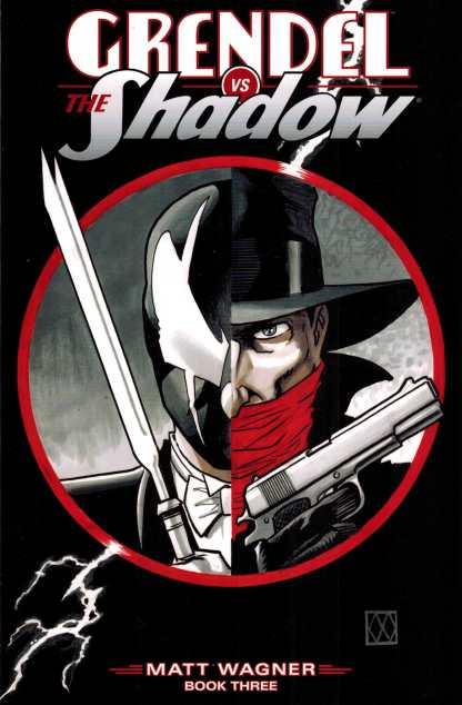 Grendel vs Shadow #3 Matt Wagner Variant Dark Horse