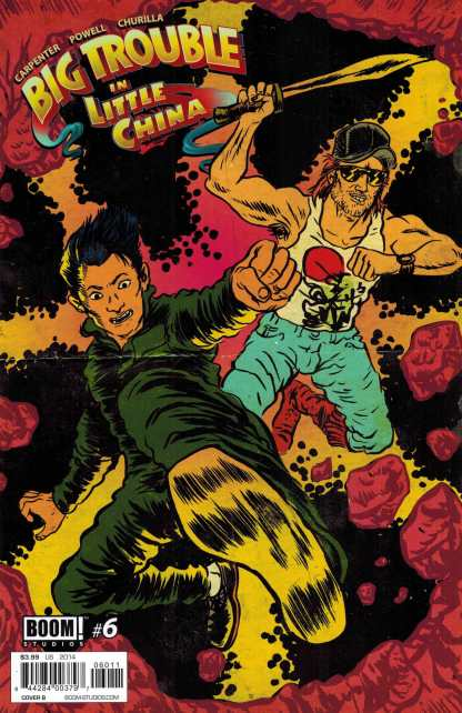 Big Trouble in Little China #6 1:10 Chase Variant Cover B Boom!