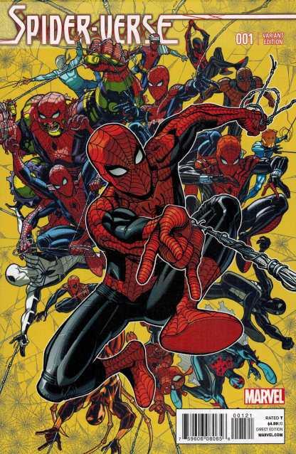 Spider-Verse #1 1:25 Nick Bradshaw Variant Marvel Spider-Man 2014