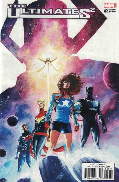 Ultimates 2 #2 1:25 Marco Rudy Variant NOW Marvel 2016