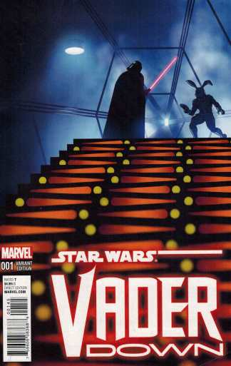 Star Wars Vader Down #1 Zdarsky Jaxxon Variant Marvel 2015