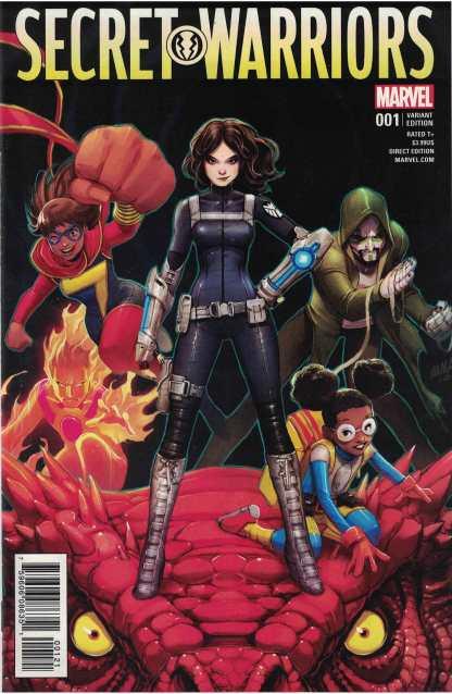 Secret Warriors #1 1:25 David Nakayama Variant Marvel 2017