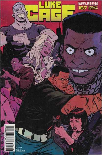 Luke Cage #167 1:15 Sanford Greene Connecting Variant Marvel Legacy