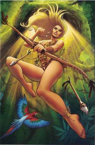 Sheena Queen of the Jungle #3 1:30 Maria Sanapo Virgin Variant Dynamite 2017