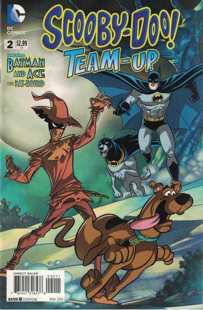 Scooby-Doo Team-Up #2 Featuring Batman & Ace the Bat-Hound