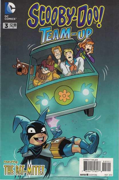 Scooby-Doo Team-Up #3 Dario Brizuela DC 2013