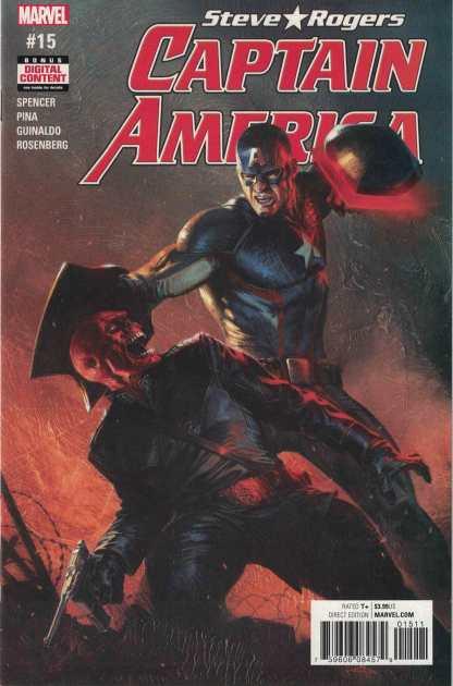 Captain America Steve Rogers #15 Gabriele Dell'Otto Marvel 2016