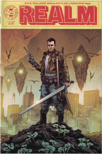 Realm #1 Jeremy Haun Cover A 1st Print Image Comics 2017