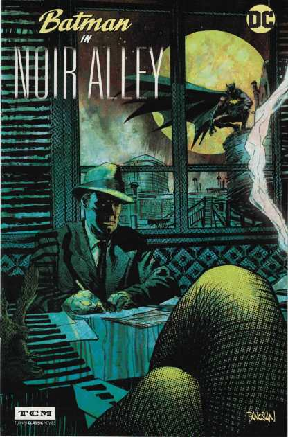 Batman in Noir Alley Turner Classic Movies Promo Variant DC 2017