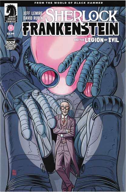 Sherlock Frankenstein Legion of Evil #1 Allred Dark Horse 2017 LCSD
