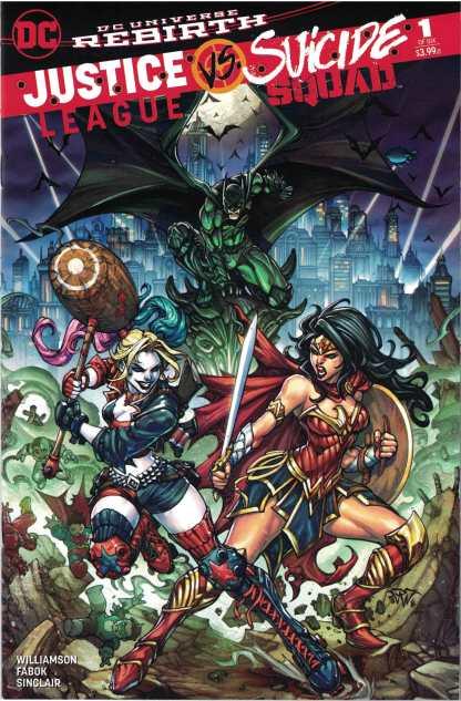 LCSD Justice League Vs. Suicide Squad #1 Paolo Pantalena DC 2017