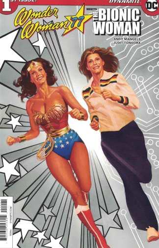 Wonder Woman 77 Bionic Woman #1 1:15 FOC Inventive Alex Ross Variant 2016 DC