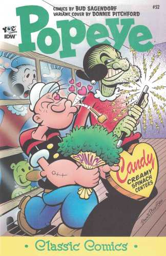 Popeye Classics Ongoing #52 1:10 Retailer Incentive Variant RI IDW