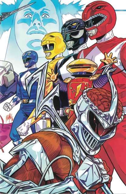 Mighty Morphin Power Rangers 2016 Annual #1 NYCC Exclusive Variant Boom 2017