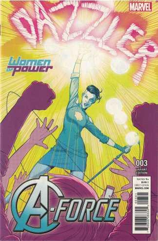 A-Force #3 Jamie McKelvie Women of Power Variant Marvel 2016 WOP