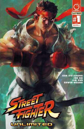 Street Fighter Unlimited #1 1:40 Bengus Variant Cover F Udon Comics 2015