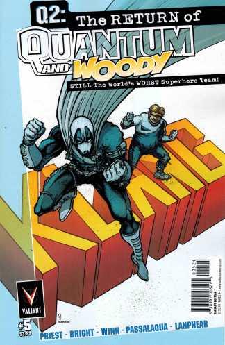 Q2 The Return of Quantum and Woody #5 1:10 Ryan Lee Variant Valiant