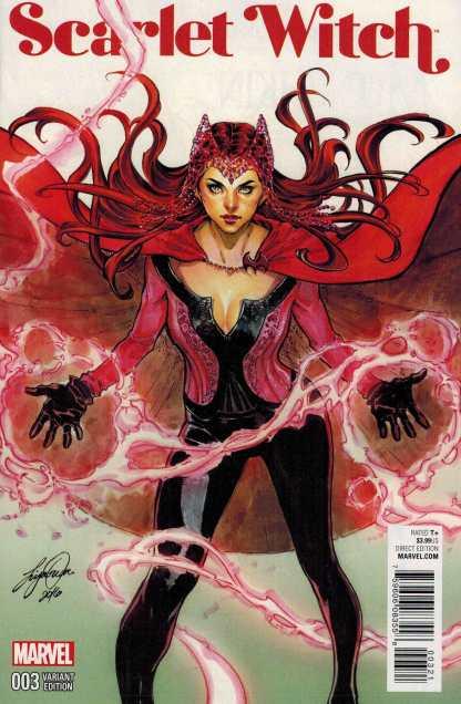 Scarlet Witch #3 1:25 Siya Oum Variant Marvel ANAD 2015