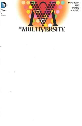 Multiversity #1 Blank Sketch Variant DC