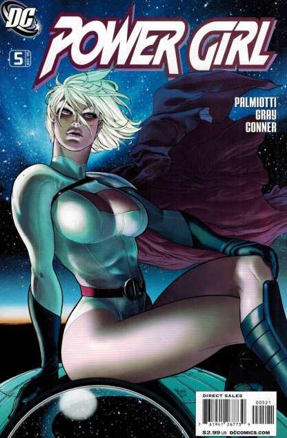 Power Girl #5 1:10 Guillem March Variant DC Comics 2009 Rare HTF