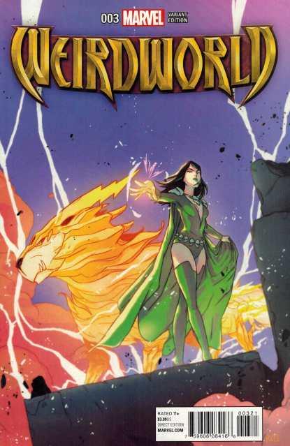 Weirdworld #3 1:25 Carreon Variant Marvel ANAD 2015