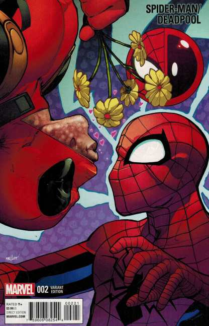 Spider-Man Deadpool #2 1:25 Marquez Variant Marvel 2016