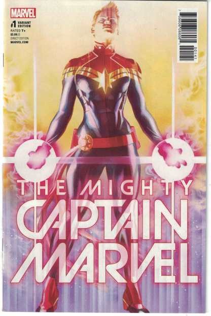 Mighty Captain Marvel #1 1:50 Alex Ross Color Variant NOW Marvel 2017 VF/NM