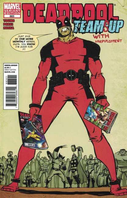 Deadpool #883 Skottie Young Variant Marvel 2009 Neal Adams Homage