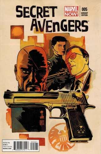 Secret Avengers #5 1:50 Francavilla Variant Marvel NOW