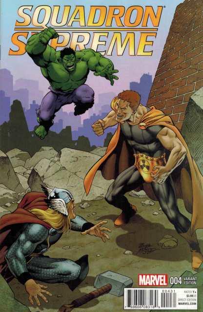 Squadron Supreme #4 1:25 Bob Mcleod Variant Marvel ANAD 2015
