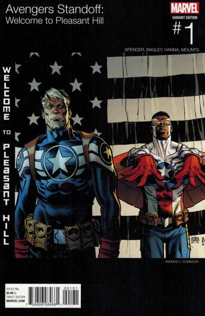 Avenges Standoff Welcome to Pleasant Hill #1 Robinson Hip Hop Variant