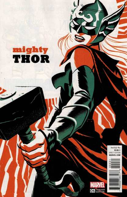 Mighty Thor #4 1:20 Michael Cho Variant ANAD 2015