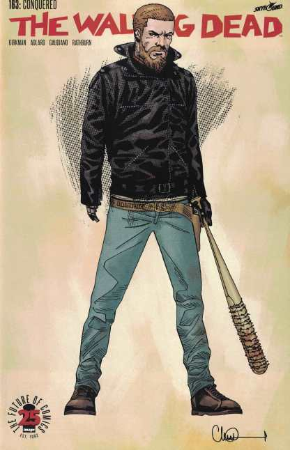 Walking Dead #163 1:200 Charlie Adlard Variant Cover B Image Comics