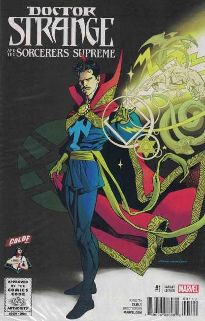 Doctor Strange Sorcerers Supreme #1 Kevin Nowlan CBLDF Exclusive Variant 2016