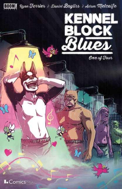 Kennel Block Blues #1 Comicspro Exclusive Variant Boom! Studios 2016