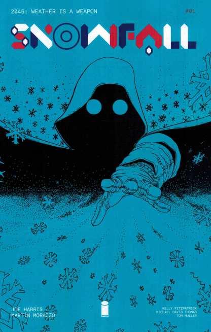 Snowfall #1 Comicspro Exclusive Variant Image Comics 2016
